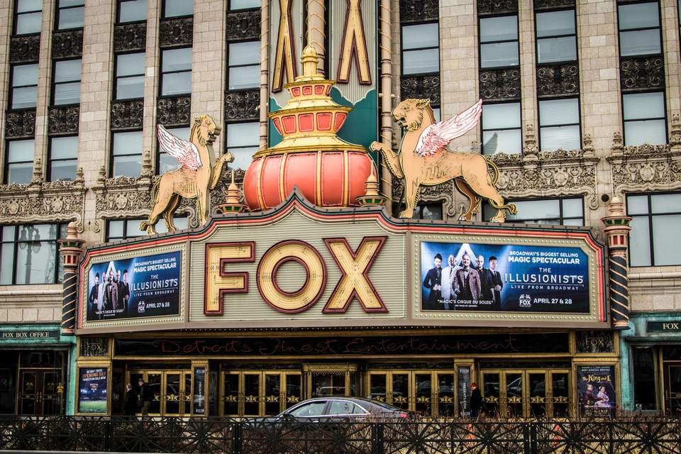 The Fox Theater In Downtown Detroit