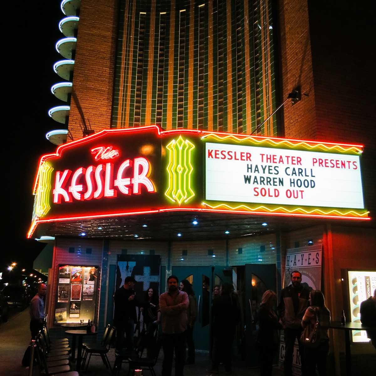Exterior of The Kessler Marquee