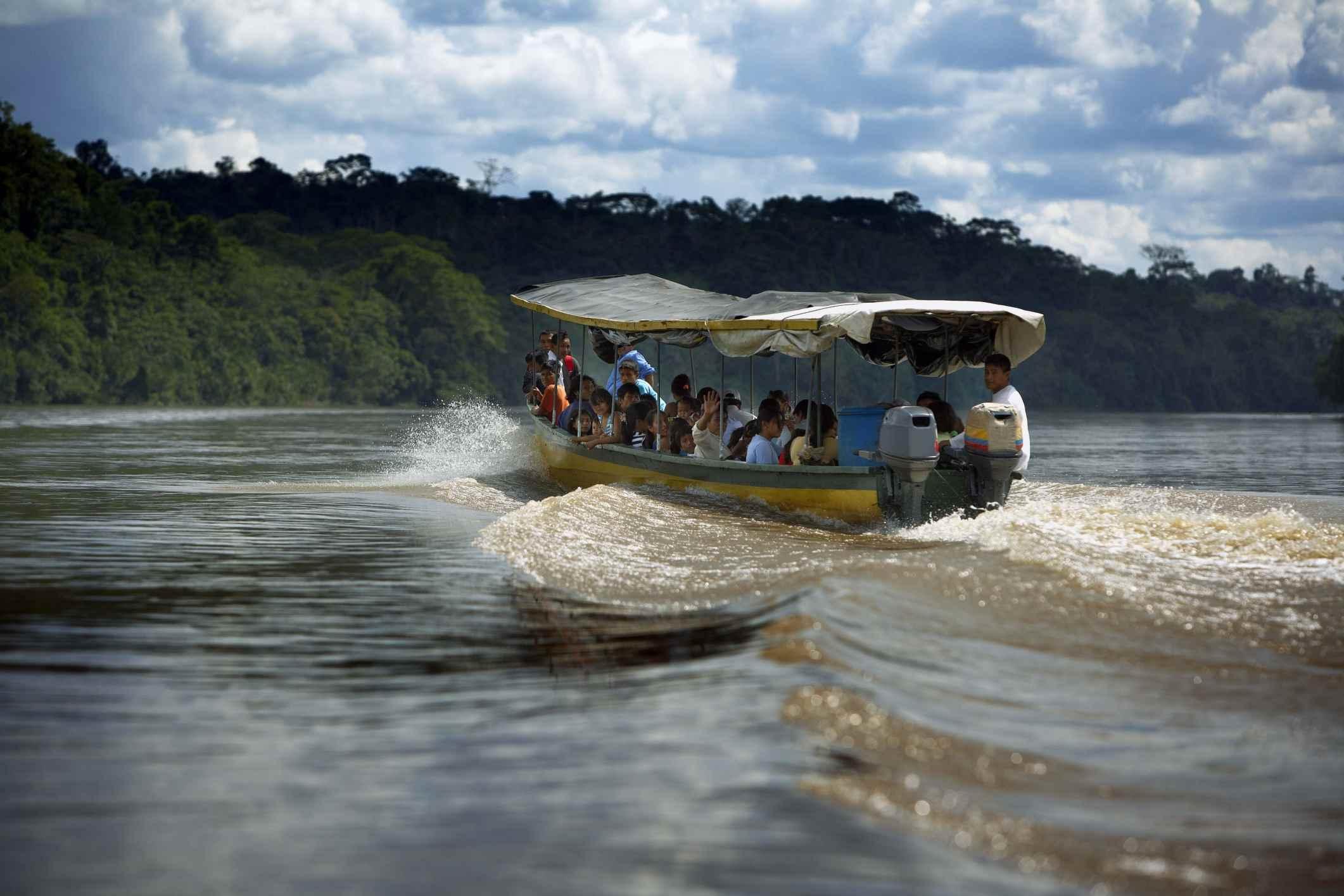 The Longest Rivers in Peru