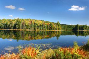 Autumn's Beauty on Mirror Lake