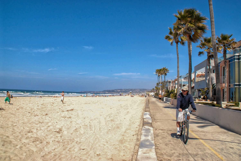 Bike Ride at Mission Beach