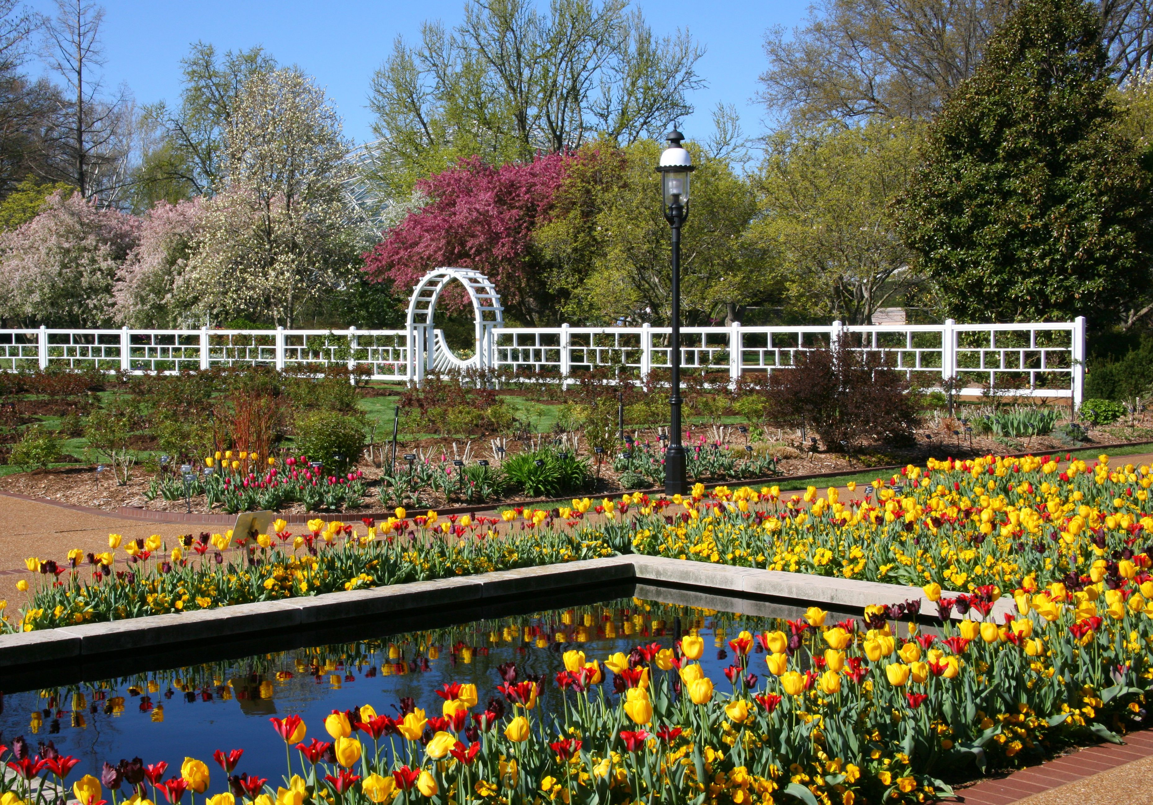 Missouri Botanical Garden in the Shaw neighborhood of St. Louis