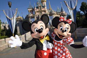 Disneyland - Mickey and Minnie