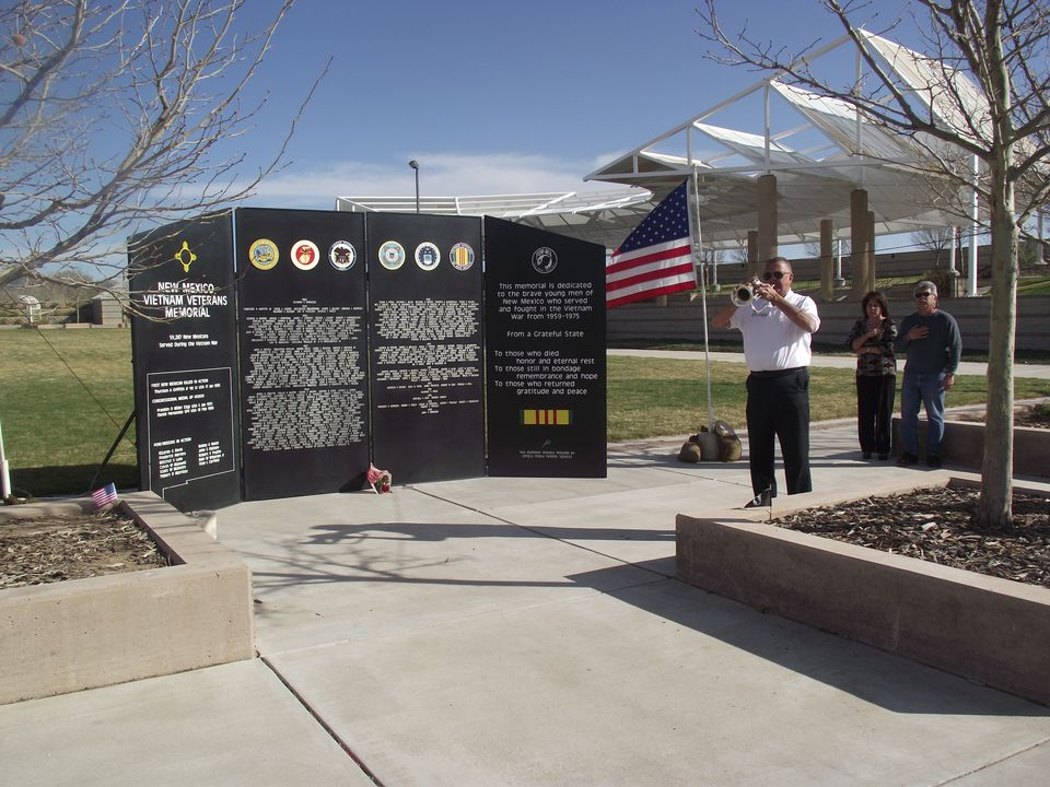 New Mexico Vietnam Veterans' Memorial at Kirtland Air Force Base
