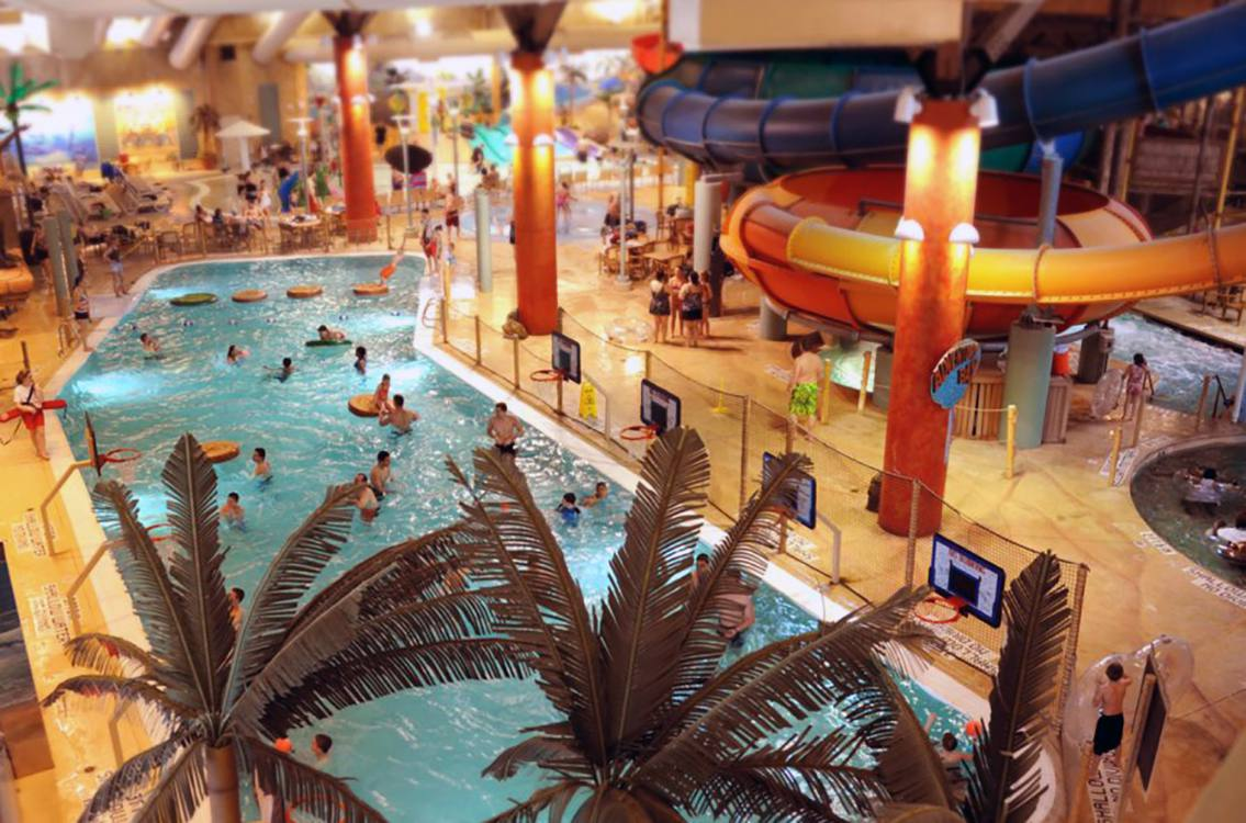 Splash Lagoon water park in Erie