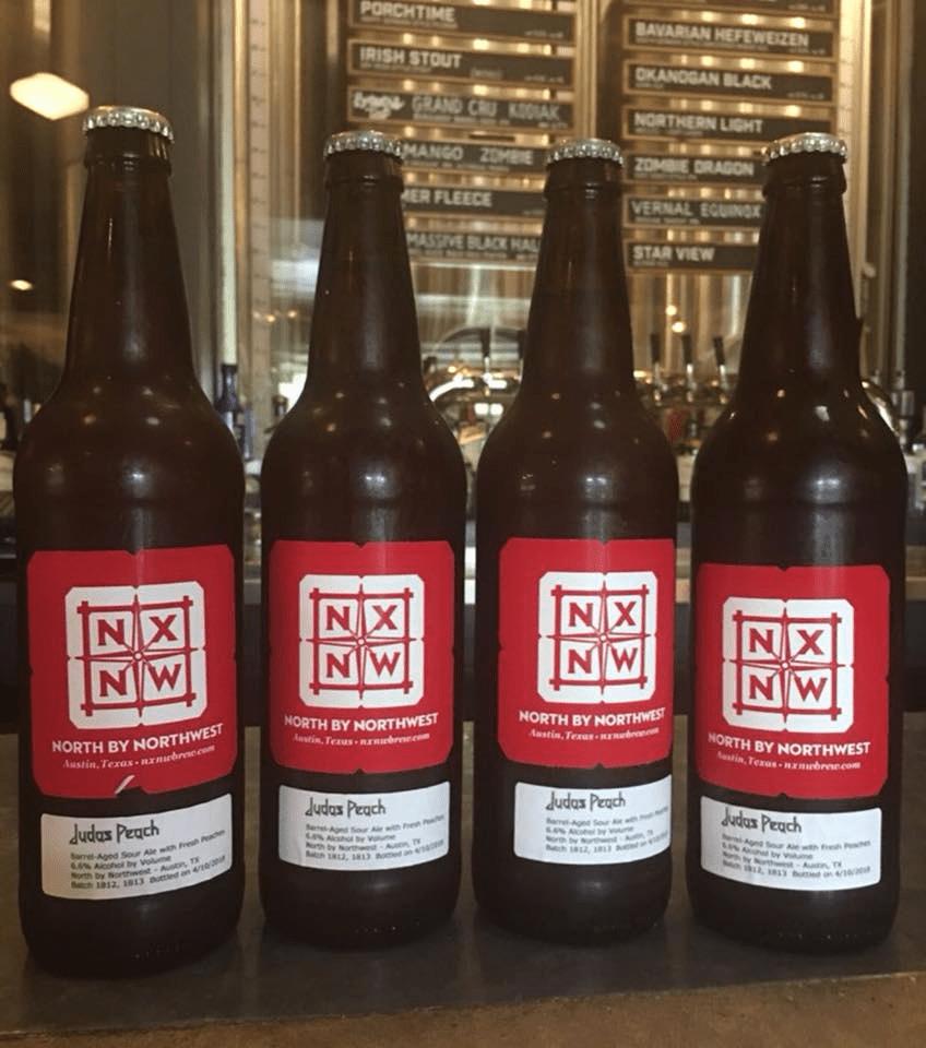 bottled beer at North by Northwest Restaurant & Brewery