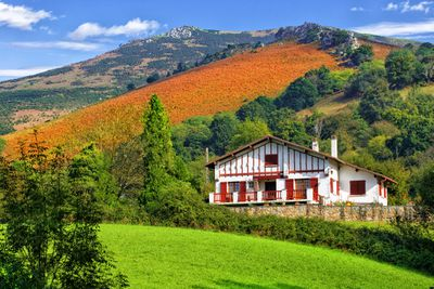 Basque Country in South West France