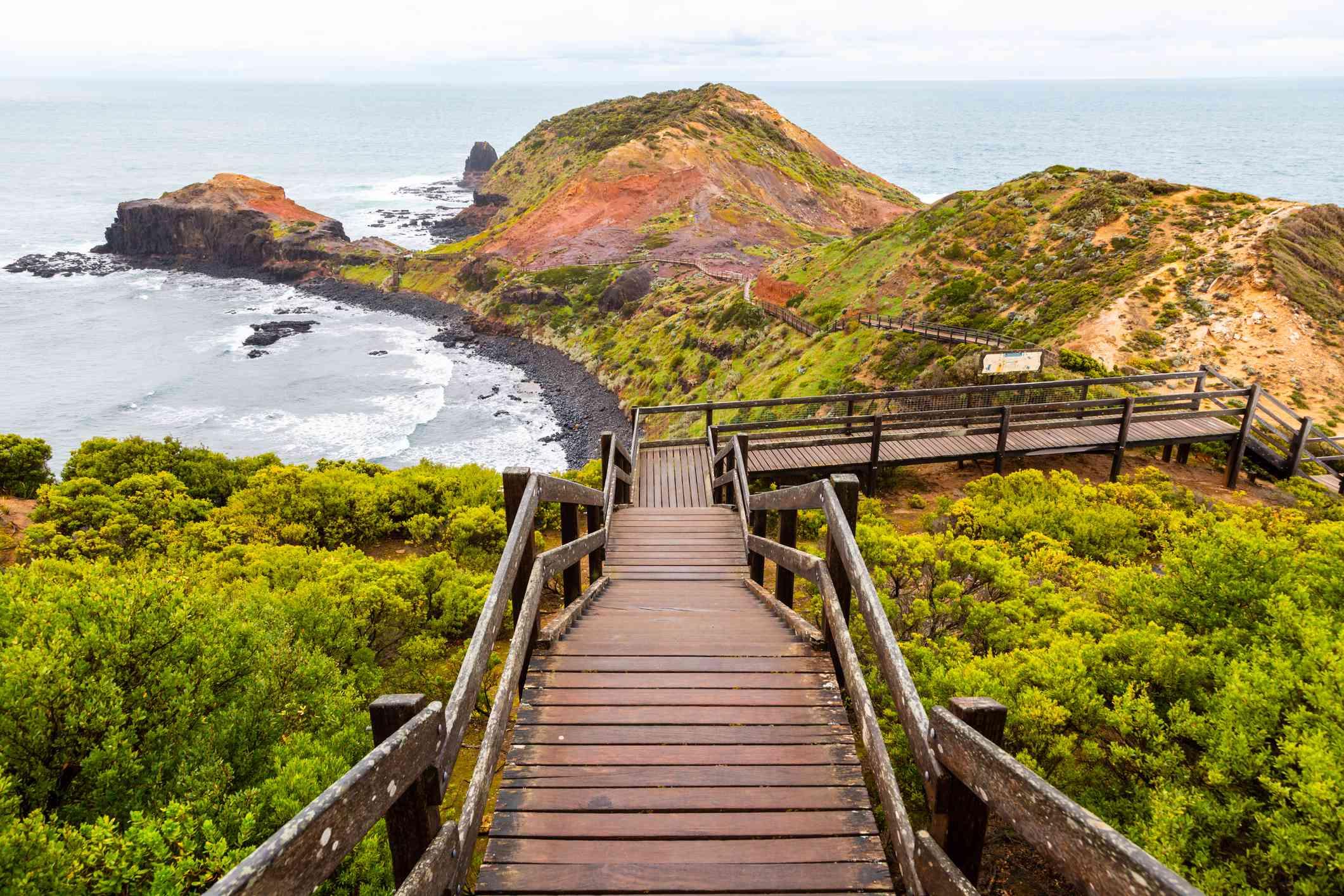 Escaleras Cape Schanck