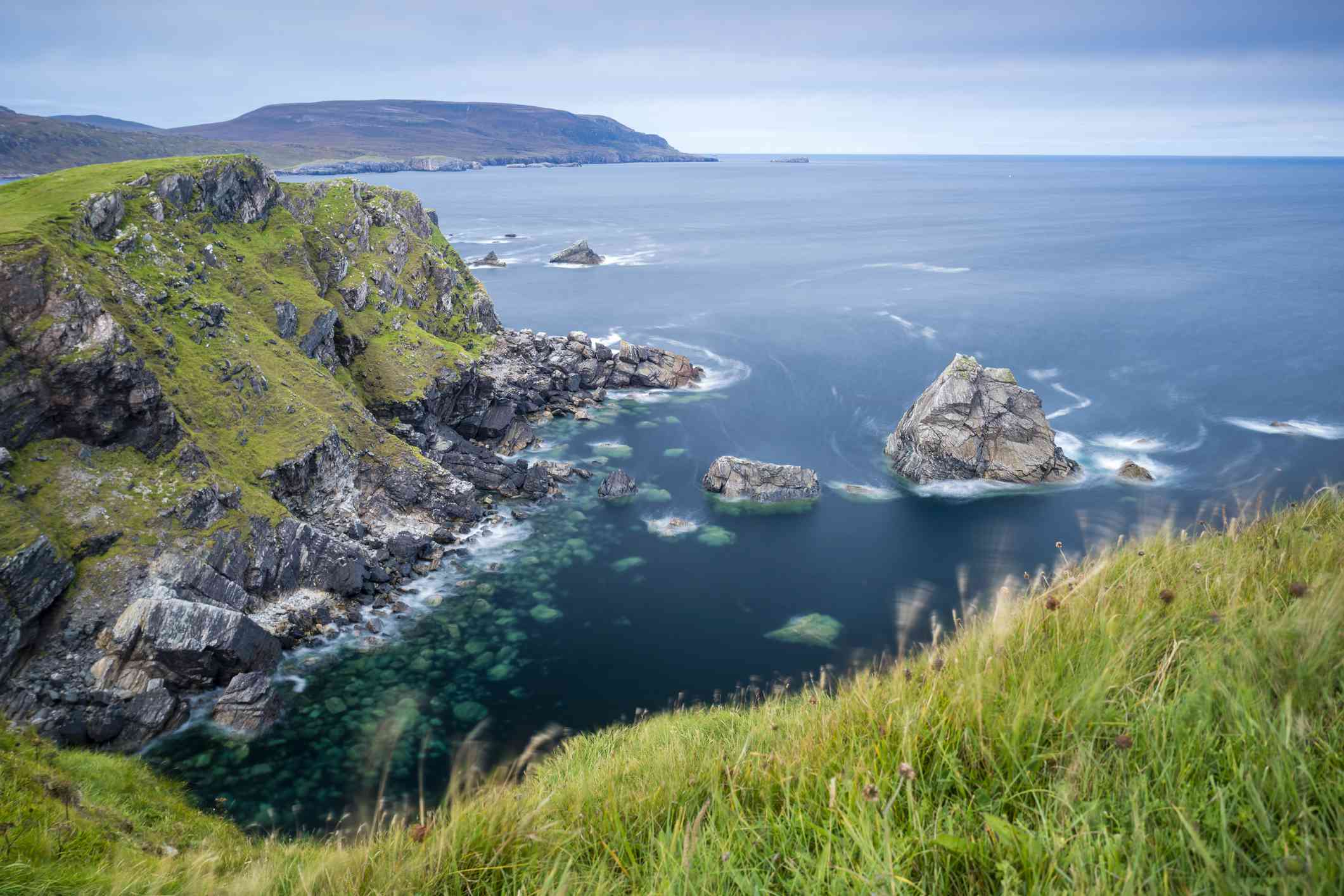 UK, Scotland, Highland, North Coast 500, Faraid Head near Durness