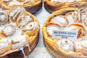Butter Ring Pastries in Solvang, California