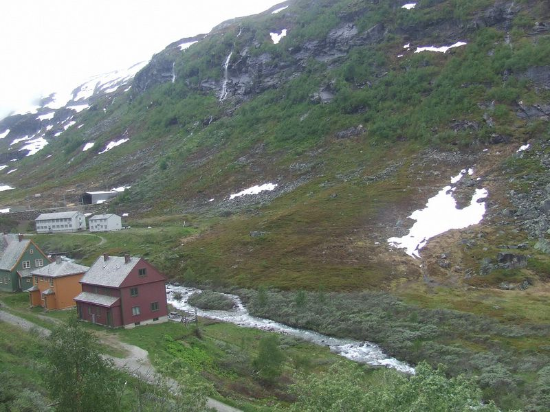 Village on the Flam Railway