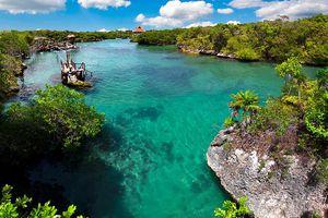 Xel-Ha, a natural water park in the Riviera Maya