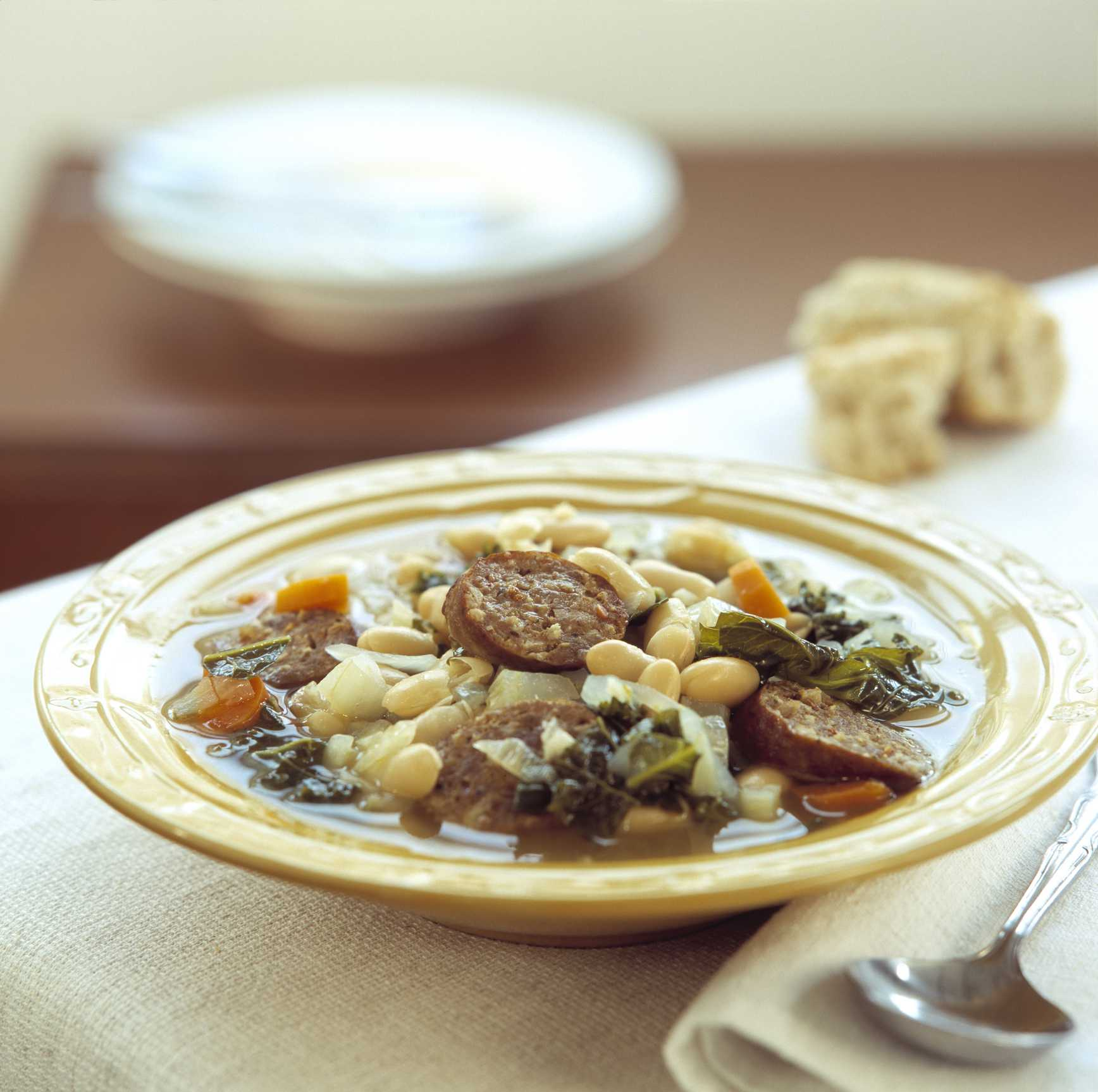 Croation Soup with Sausage and White Beans