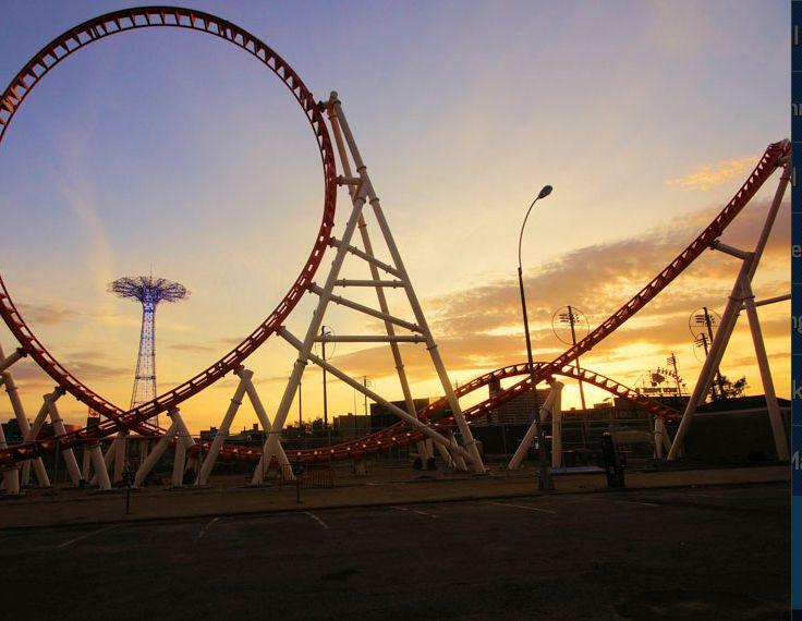 Thunderbolt at Coney Island's Luna Park