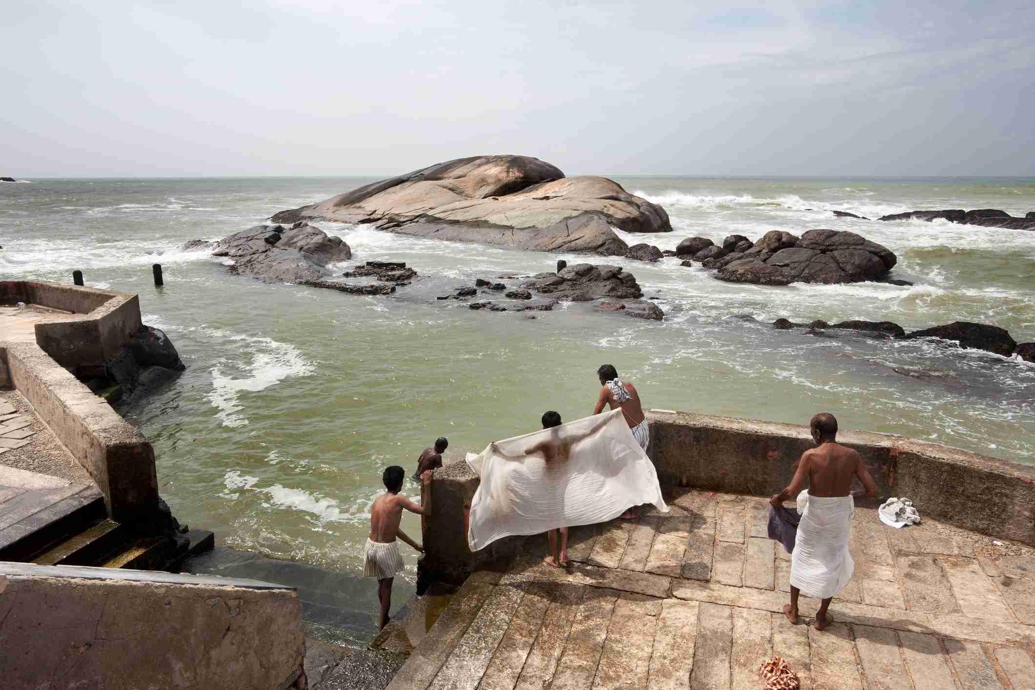 Kanyakumari, southernmost point of India.