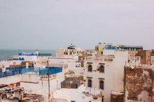 Rooftops in Essaouira