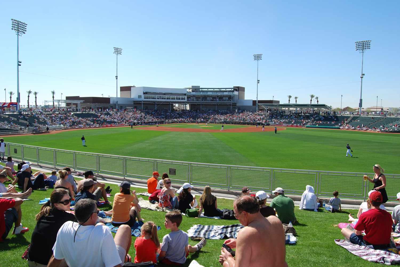 Goodyear Ballpark in Arizona