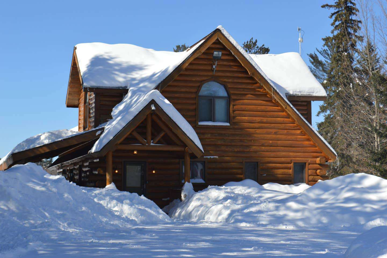 Lincoln Log Cabin, Hagerman Lake