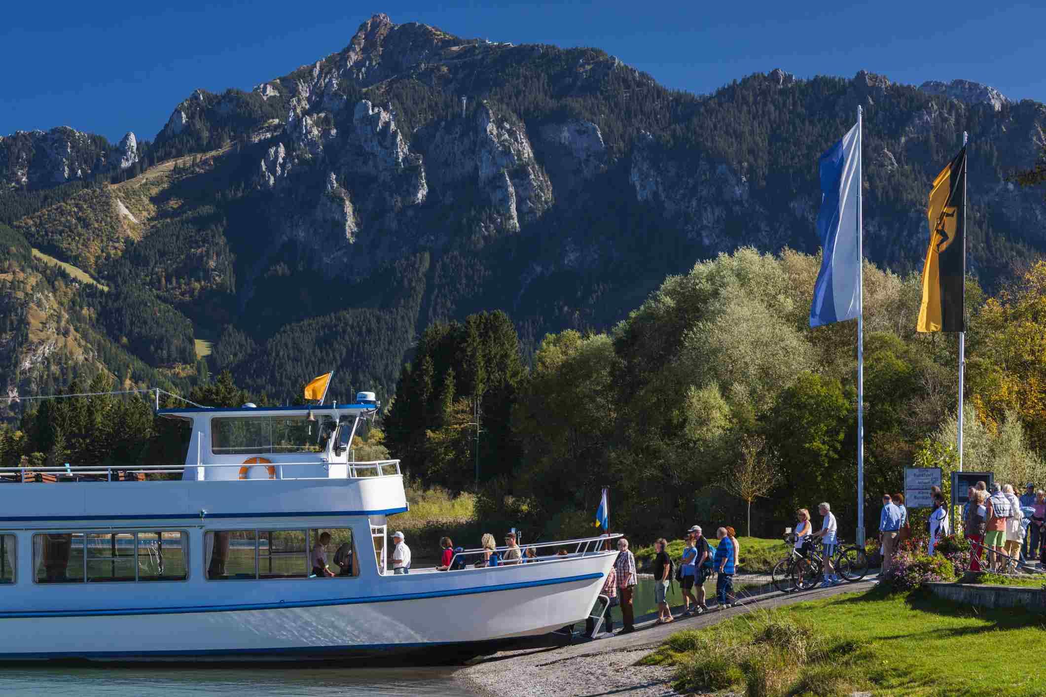 Forggensee Cruise in Bavaria