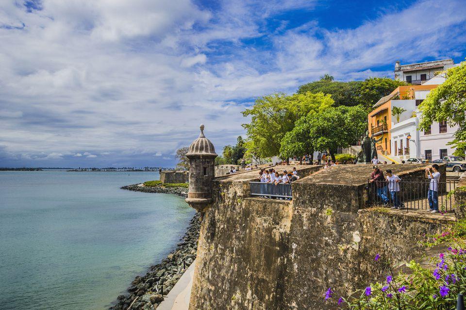 Viejo San Juan, las murallas de la ciudad
