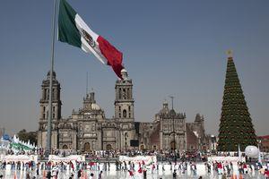 Mexico City Skating Rink