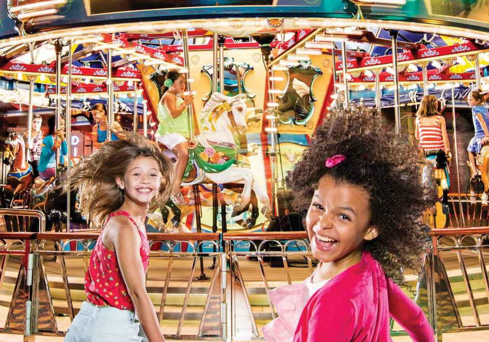 Carousel on Harmony of the Seas