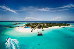 Island in the Maldives.