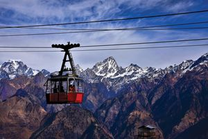 Auli, High Altitude Cable Car, Longest ropeway of Asia