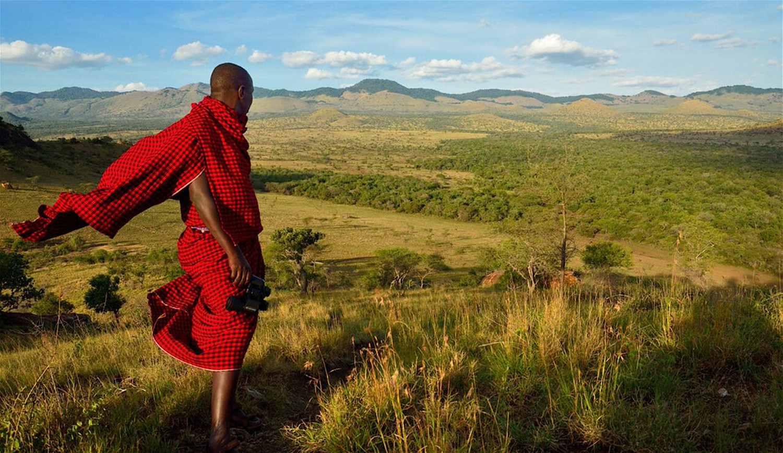 View from Campi ya Kanzi