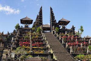 Pura Besakih staircase, Bali