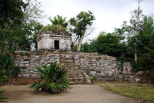 Maya Ruins at Xcaret