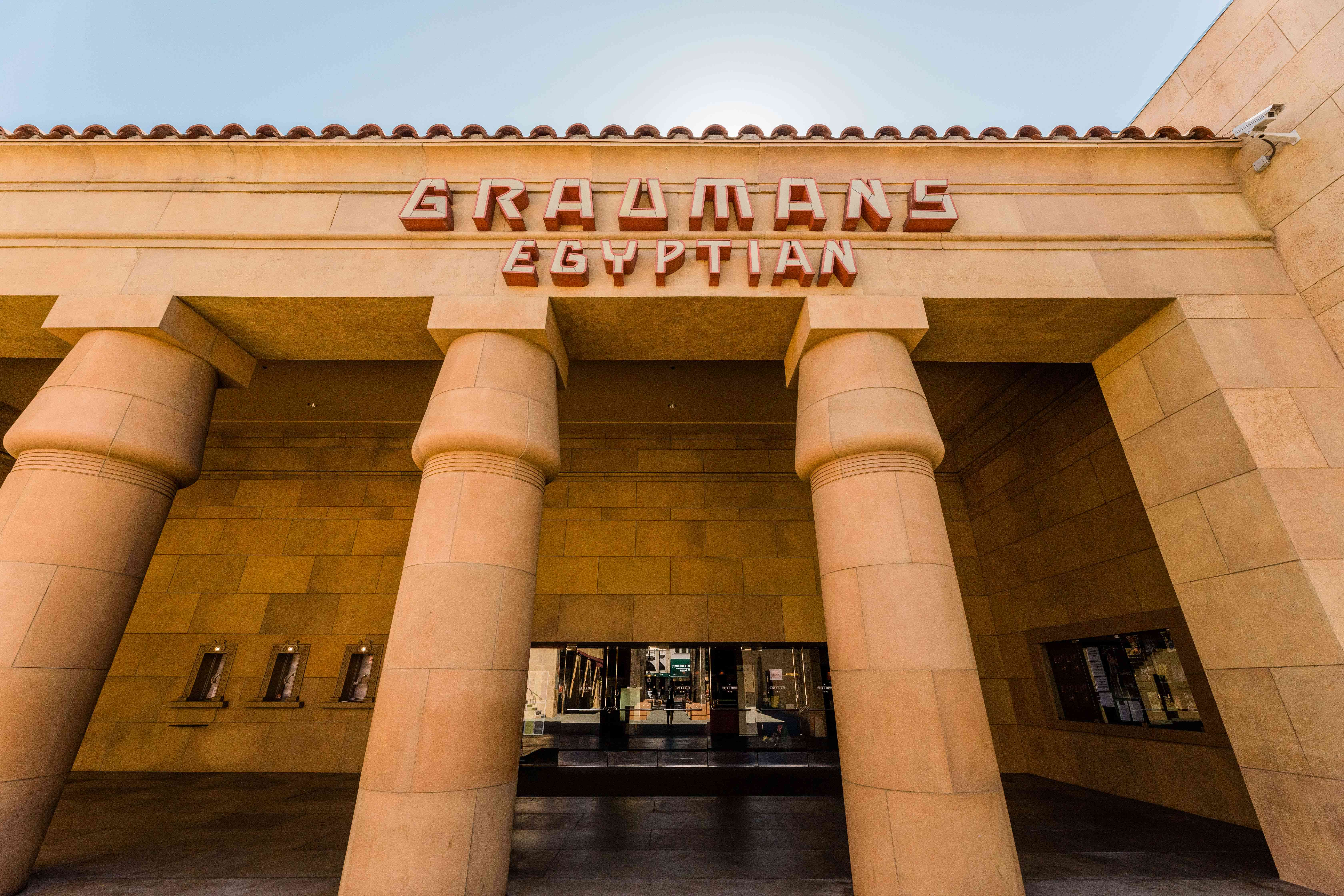 Grauman's Egyptian Theatre in Los Angeles, CA