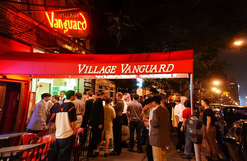 The outside of the Village Vanguard NYC