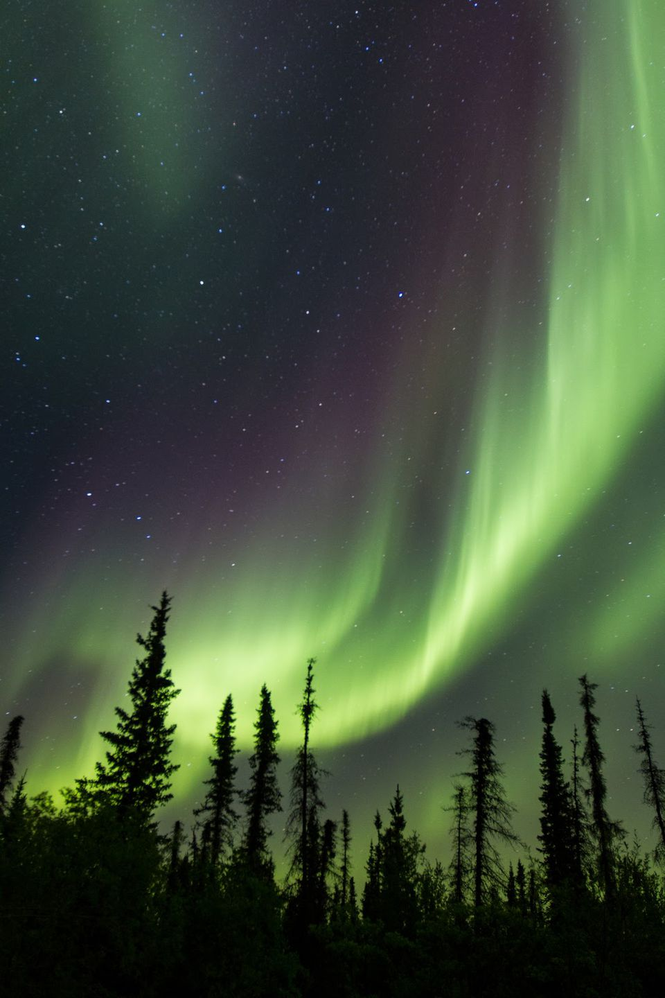 One of the highlights of off-season travel is seeing the northern lights