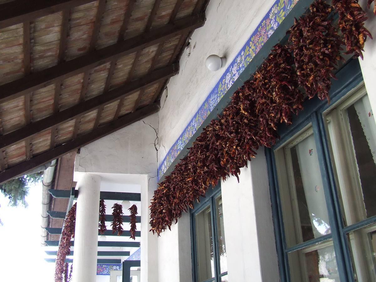 Paprika Peppers at the Kalocsa Folk Art Museum