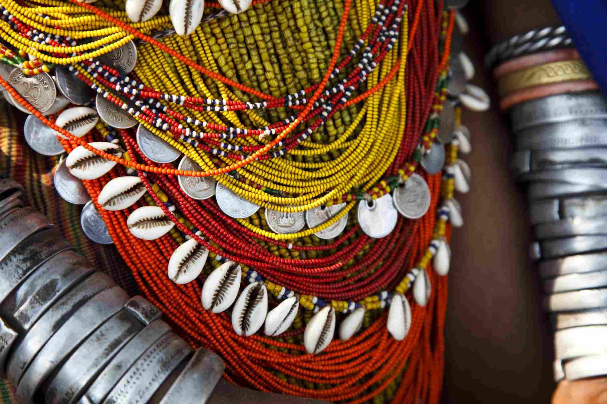 Vestido tribal Odisha