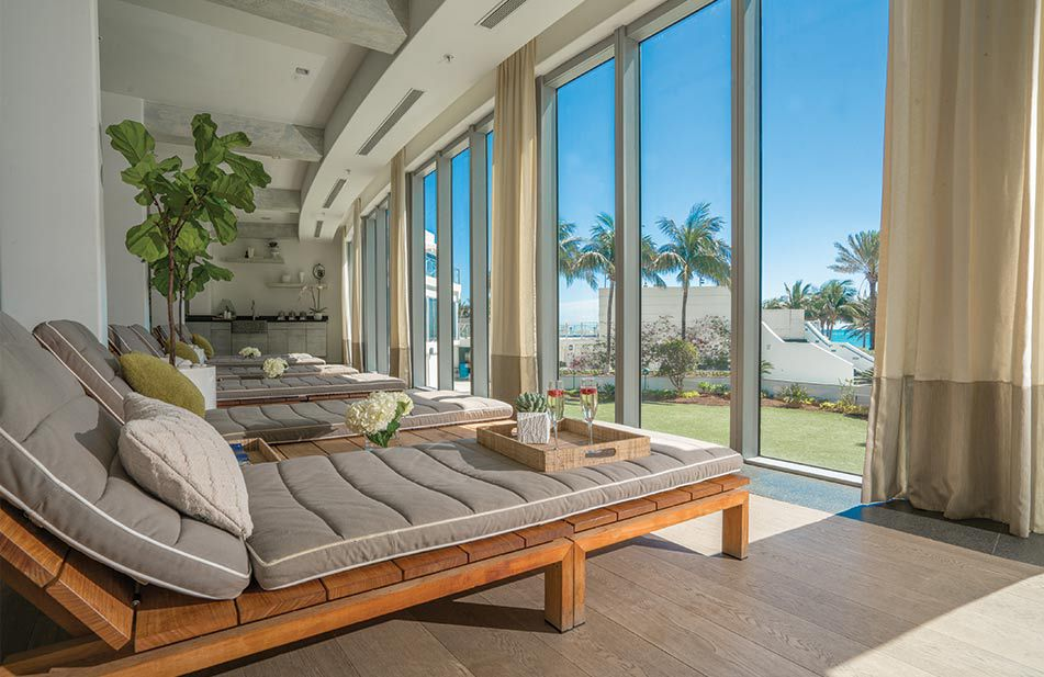 Esencia relaxation room at Nobu Hotel Miami Beach