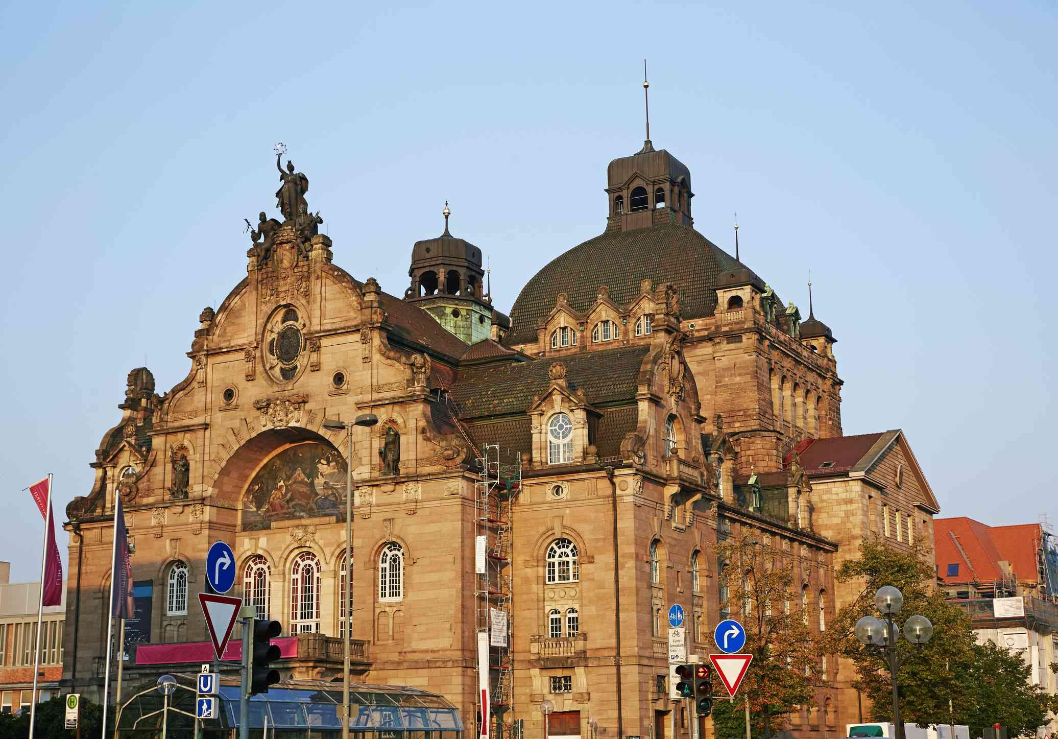 Facade of Nuremberg Opera House