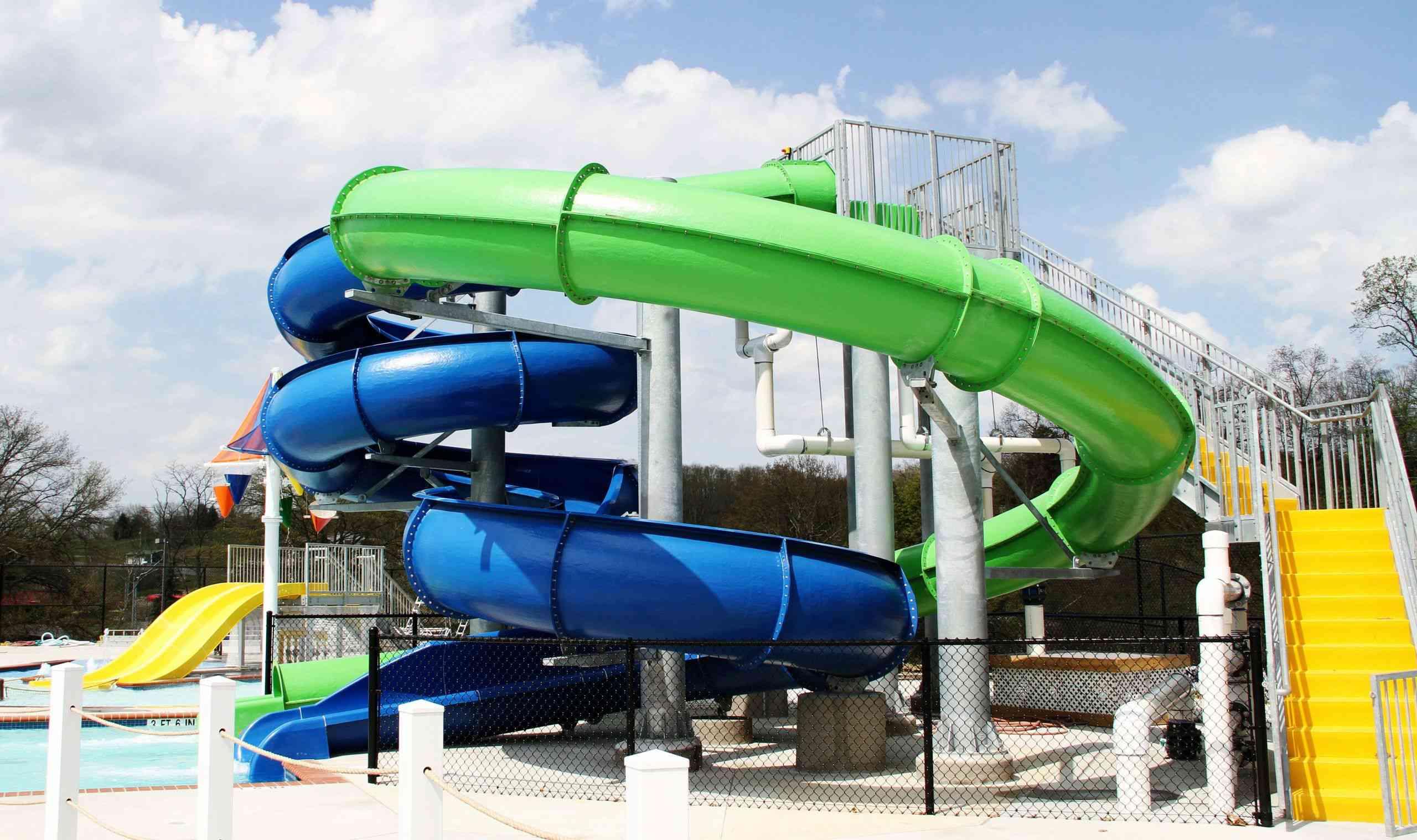 Splash Zone water park in Clarksburg West Virginia