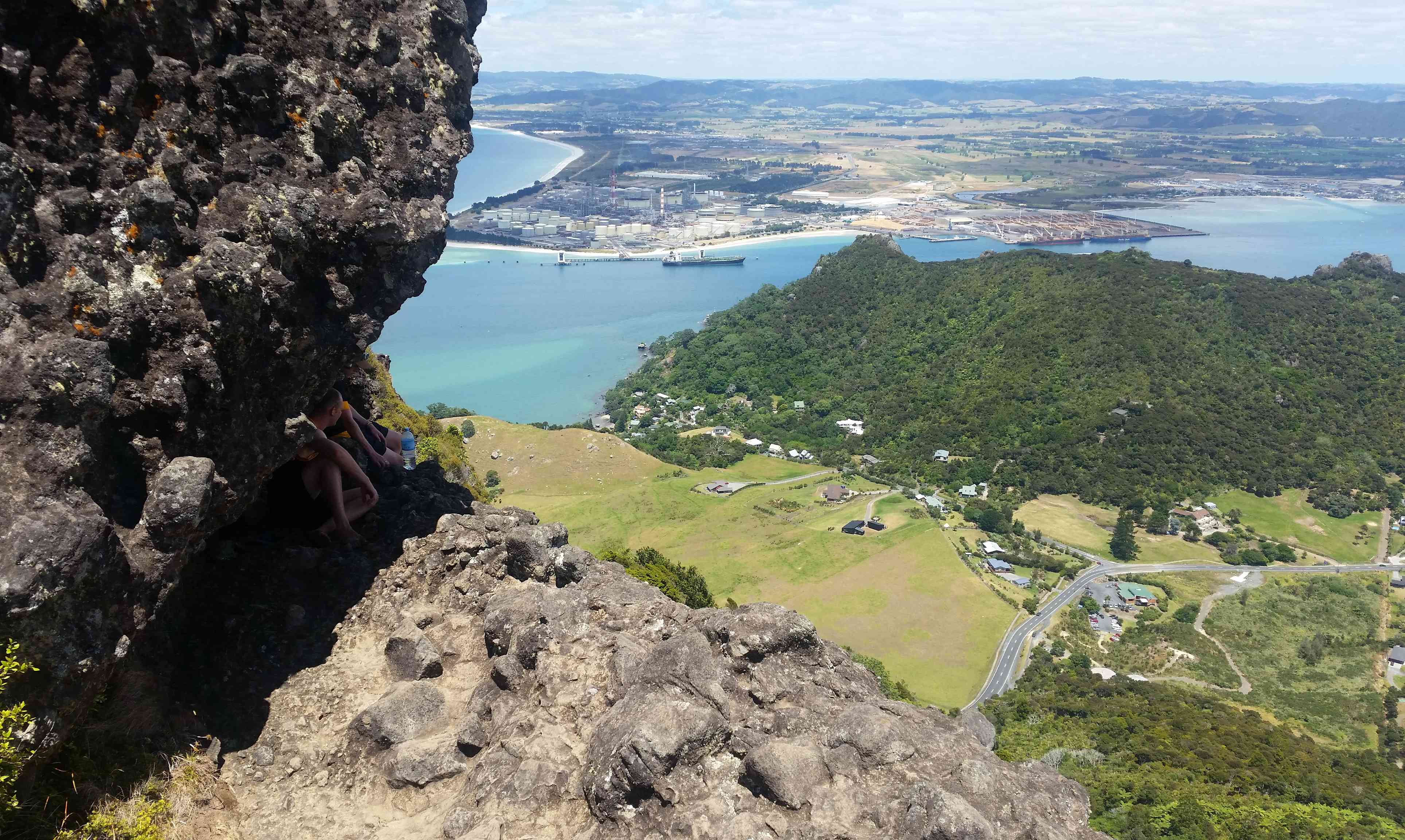 View from Mt. Manaia