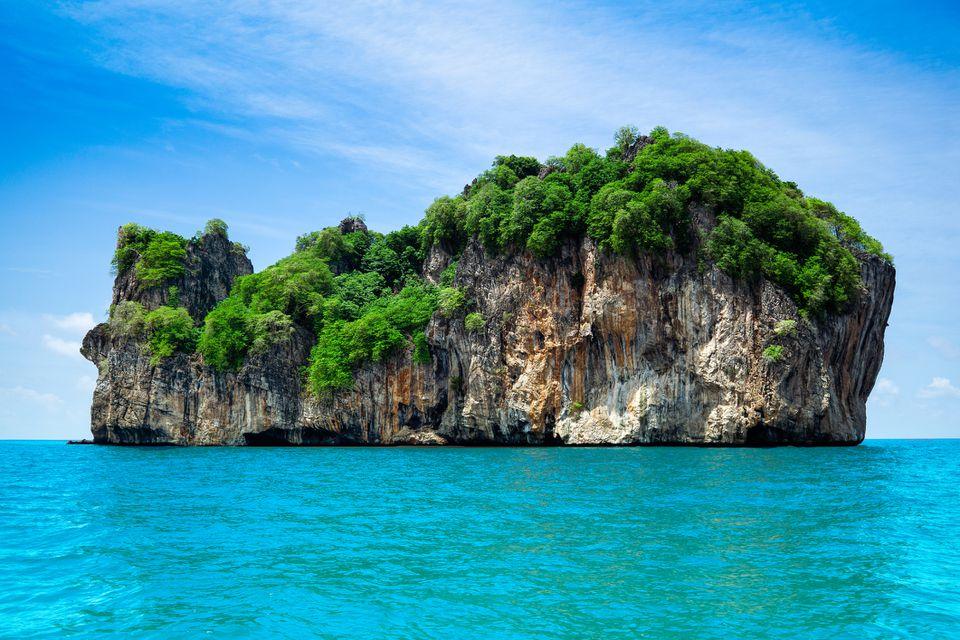 Isla Bida Nok, Phi Phi, Krabi, Tailandia
