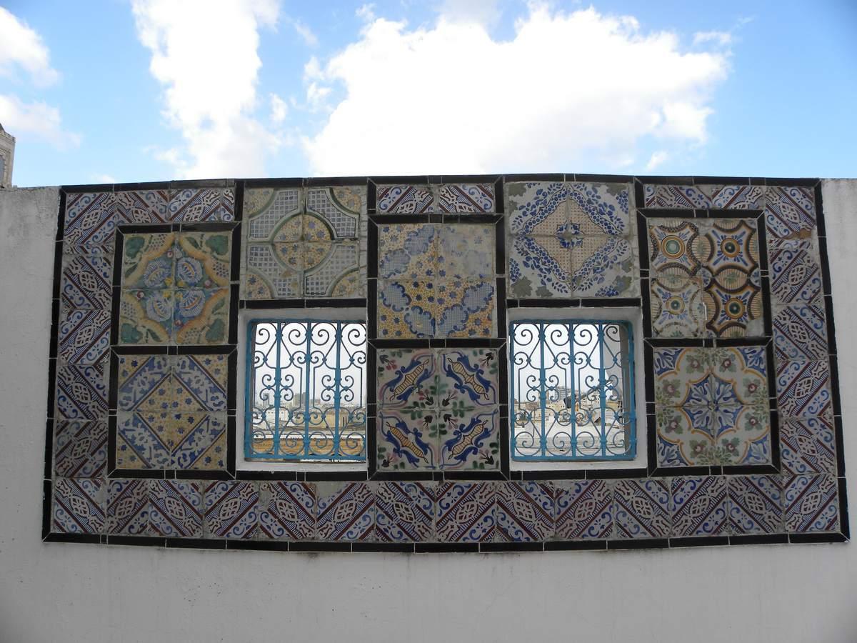 Wall Mosaics in Tunis