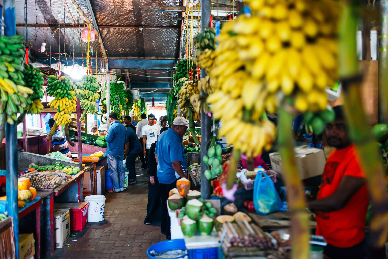 Market at Male, Maldives.
