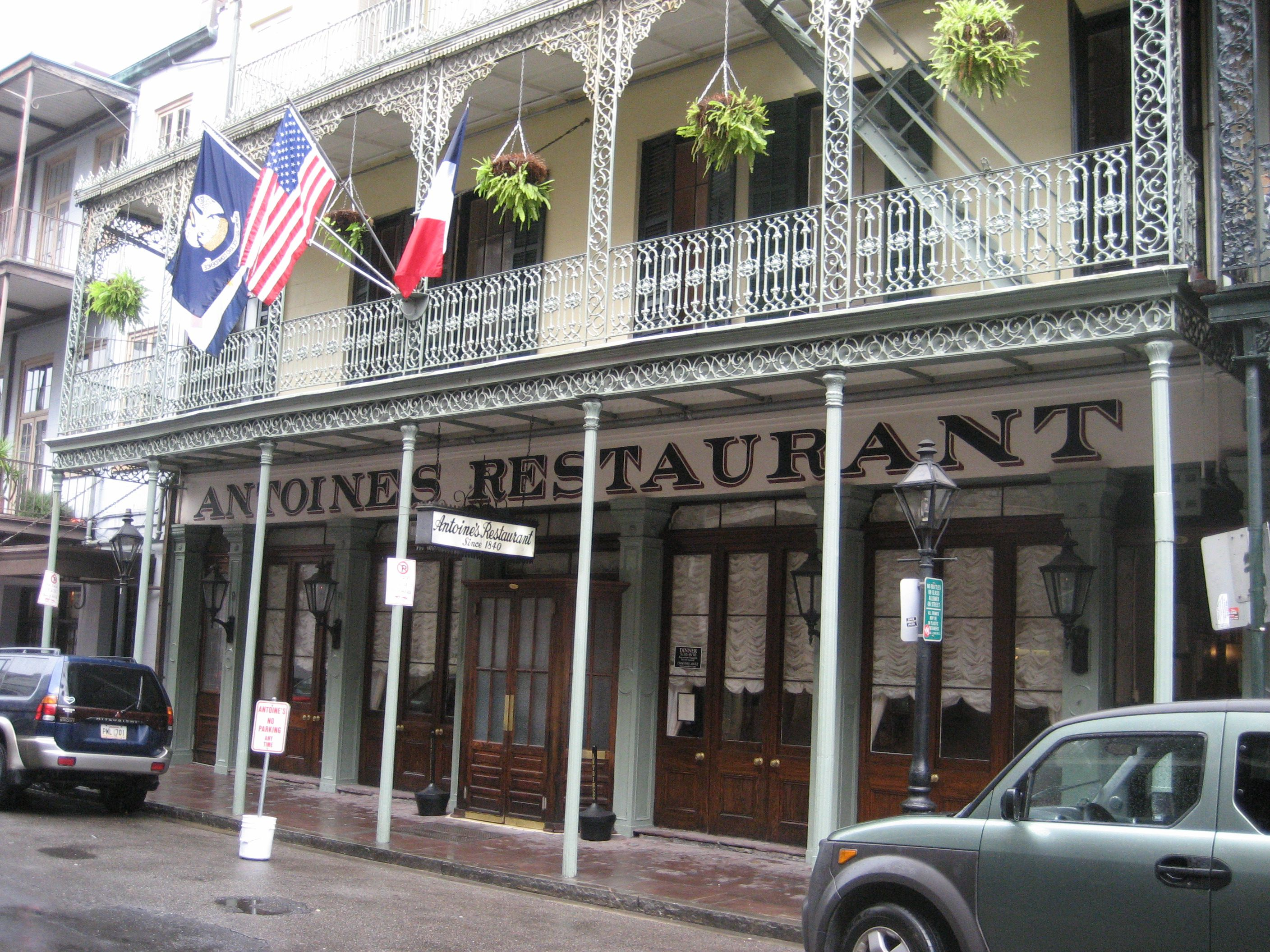 New Orleans Old Line Restaurants