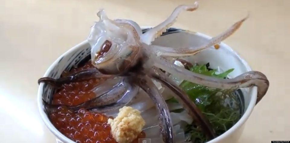 Dancing Squid