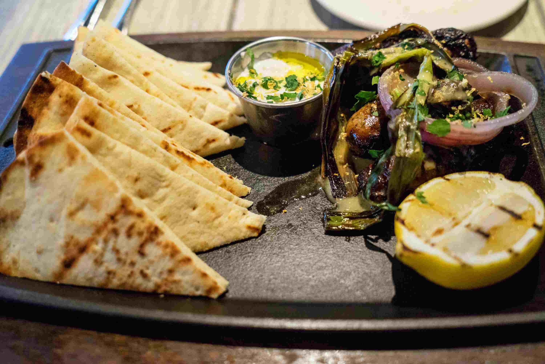 Comida griega en MP Taverna