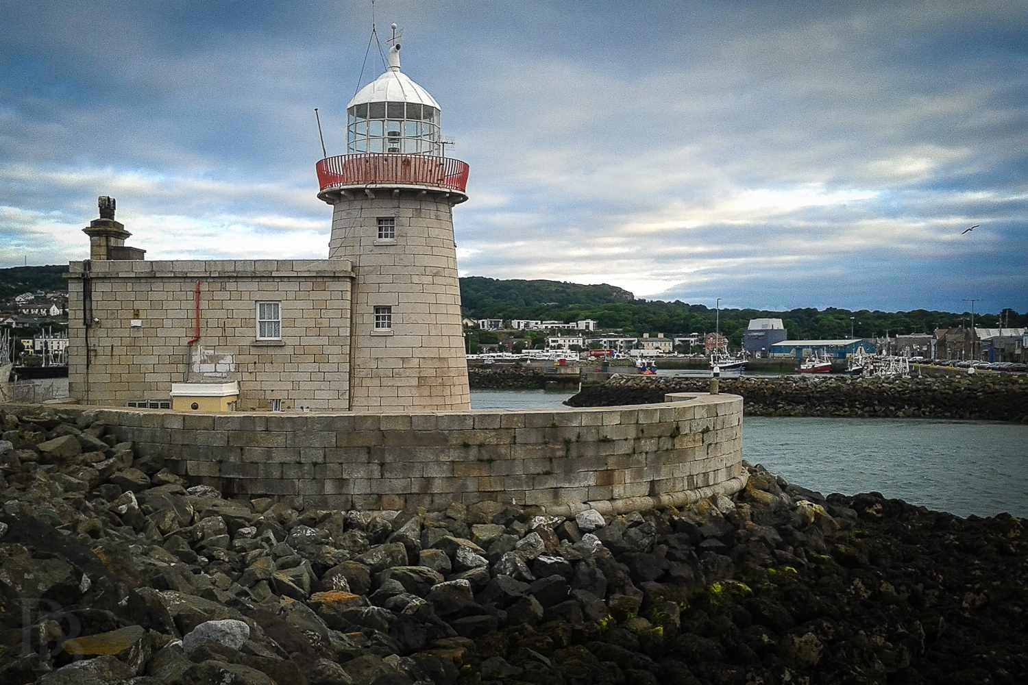Howth Lighthouse - where Erskine Childers landed rebel arms