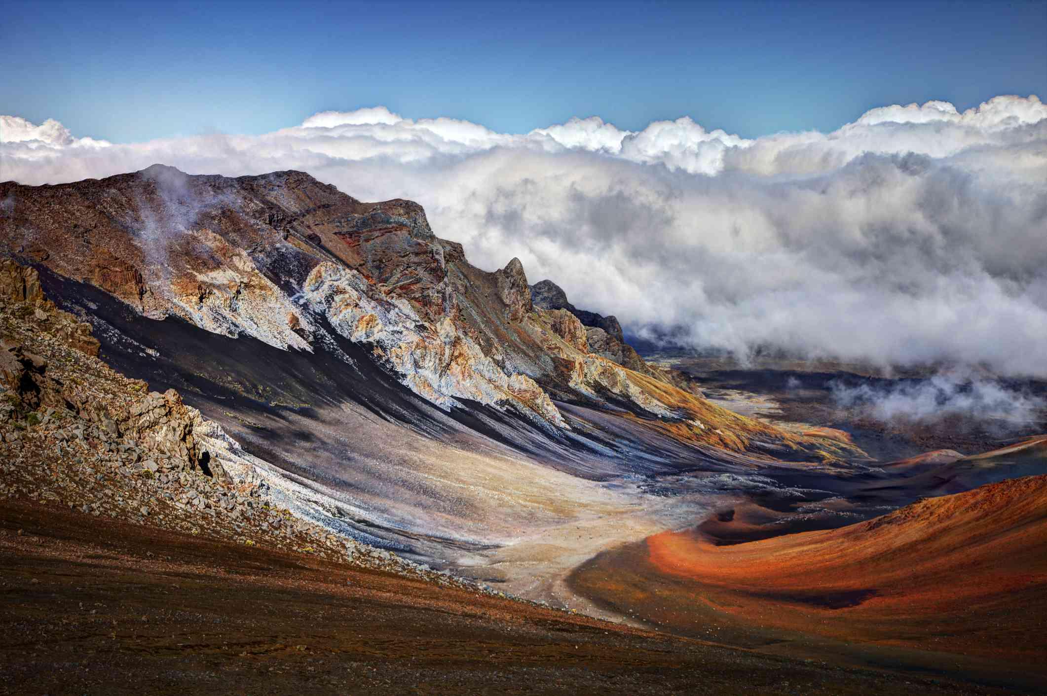 Sliding Sands Trail in Haleakala National Park