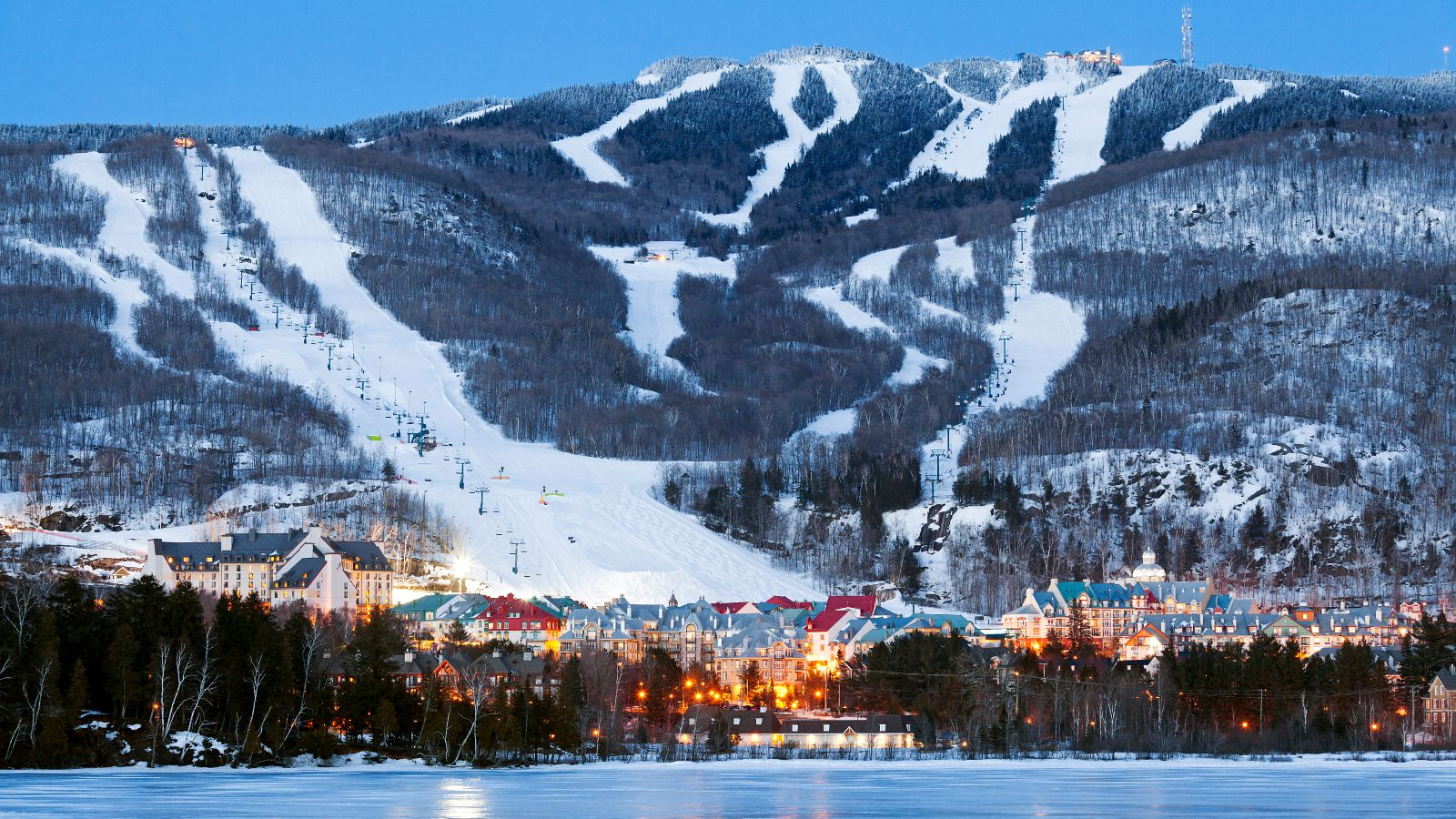 Canada Ski Resorts Map Near Montreal Best Ski Resorts in the Montreal, Quebec Area