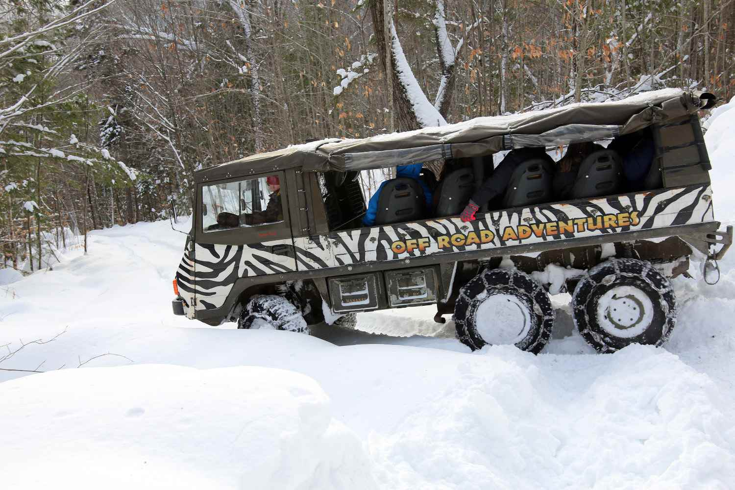 Winter Off Roading in the White Mountains